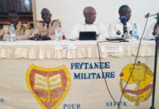 Conférence avec Serigne Mbaye THIAM (promo 1970), Ministre de l'Éducation Nationale