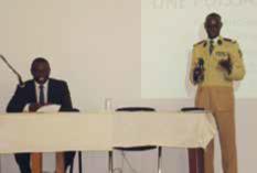Conférence avec Cheikh Tidiane GADIO (promo 1969), Ministre des Affaires Etrangères